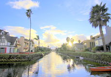 Venice Canals, Los Angeles, California Stock Image