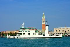 Venice, car ferry Royalty Free Stock Image
