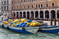 Venice Cargo Royalty Free Stock Images