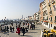 Venice carnival. February 2009. Great event in Riva degli Schiavoni Royalty Free Stock Photo