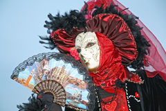Venice carnival 2011 - mask Stock Photo