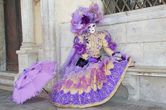 Venice carnival 2011 - mask Stock Images