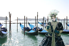 Venice carnival 2011 - mask Royalty Free Stock Photography
