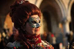 Free Venice Carnival 2016 Royalty Free Stock Photography - 172761157