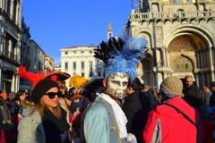 Venice  Carnival Celebration,Italy Royalty Free Stock Image