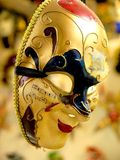 Venice Carnival ceramic mask - Italy Royalty Free Stock Images