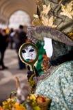 Venice carnival costume Stock Photography