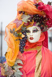 Venice carnival costume Royalty Free Stock Image
