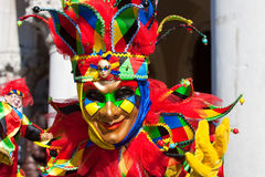 Venice carnival costume Royalty Free Stock Photos