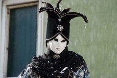 Venice Carnival Costume Stock Photo