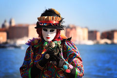 Venice Carnival 2016 royalty free stock image