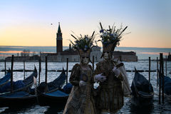 Venice Carnival 2016 Stock Photography