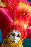 Venice carnival costume mask Royalty Free Stock Photo