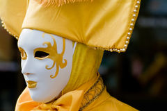 Venice carnival costume mask Stock Photo