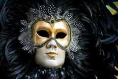 Venice carnival costume mask Royalty Free Stock Image