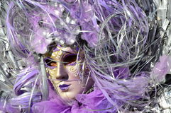Venice Carnival Costume mask Royalty Free Stock Photos