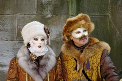 Venice Carnival couple Royalty Free Stock Photography