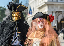 Venice Carnival Couples Royalty Free Stock Photos