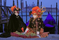 Venice Carnival Festival Royalty Free Stock Photos