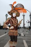 Venice Carnival in Italy Stock Photos