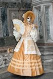 Venice Carnival in Italy Stock Image