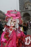 Venice Carnival in Italy Royalty Free Stock Photo