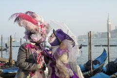 Venice carnival 2019 royalty free stock photos