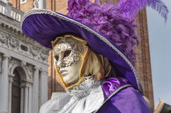 Venice Carnival Mask. Detail of a traditional mask in Venice, Italy stock photos