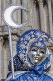 Venice Carnival Mask. Detail of a traditional mask in Venice, Italy royalty free stock image