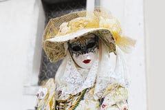Venice Carnival Mask. Elegant woman mask stock photography