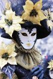 Venice Carnival Mask. Flower mask royalty free stock photos