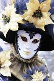 Venice Carnival Mask. Flower mask stock photography