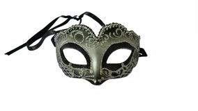 Venice carnival mask isolated Royalty Free Stock Image