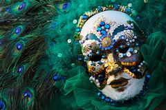 Venice Carnival Mask Royalty Free Stock Photography
