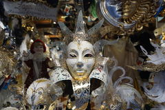 Venice carnival mask shop Royalty Free Stock Photos