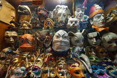Venice carnival mask shop Stock Image