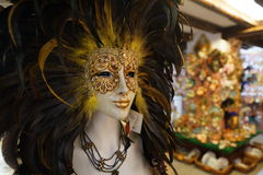 Venice carnival mask shop Royalty Free Stock Images