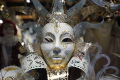 Venice carnival mask shop Stock Photography