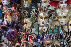 Venice carnival mask shop Royalty Free Stock Image