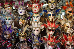 Venice carnival mask shop Stock Photo