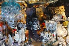 Venice Carnival Mask. Shop Window stock photography