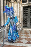 Venice Carnival Mask. Traditional mask in Venice during Carnival, Italy Royalty Free Stock Photo