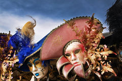 Venice carnival  masks Royalty Free Stock Photography