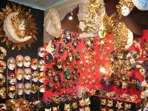Venice Carnival masks Stock Photography