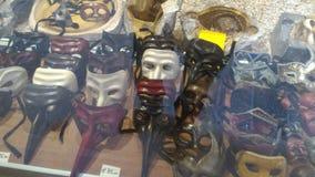 Venice Carnival masks stock photo