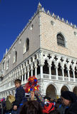 Venice Carnival scene Stock Photos