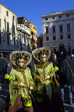 Venice carnival streets Royalty Free Stock Photos