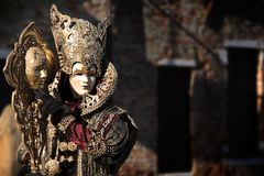 Venice Carnival 2016. Venice carnival costume and mask