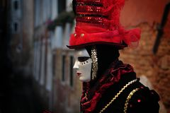 Venice Carnival 2016 Royalty Free Stock Images