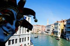 Venice Carnival, world famous island - Italy Royalty Free Stock Photos